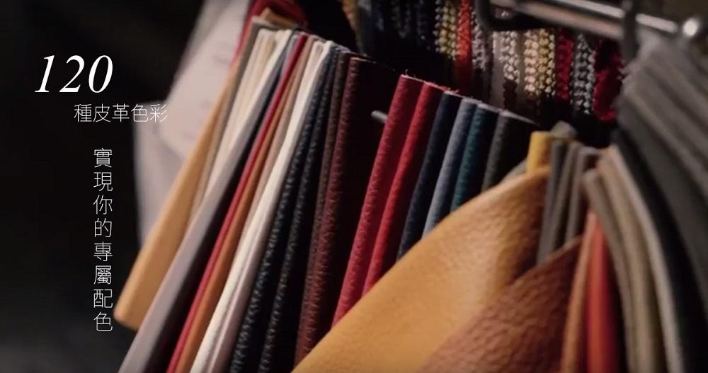 義大利進口沙發tiziano擁有100多種皮色