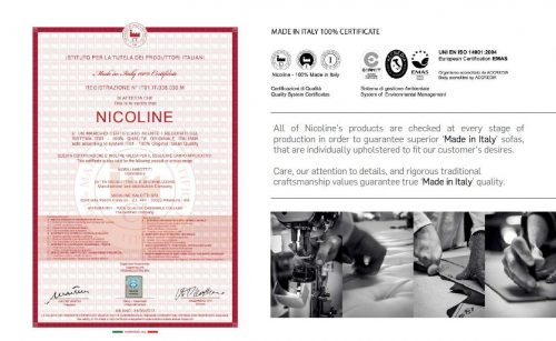 nicoline義大利政府認證