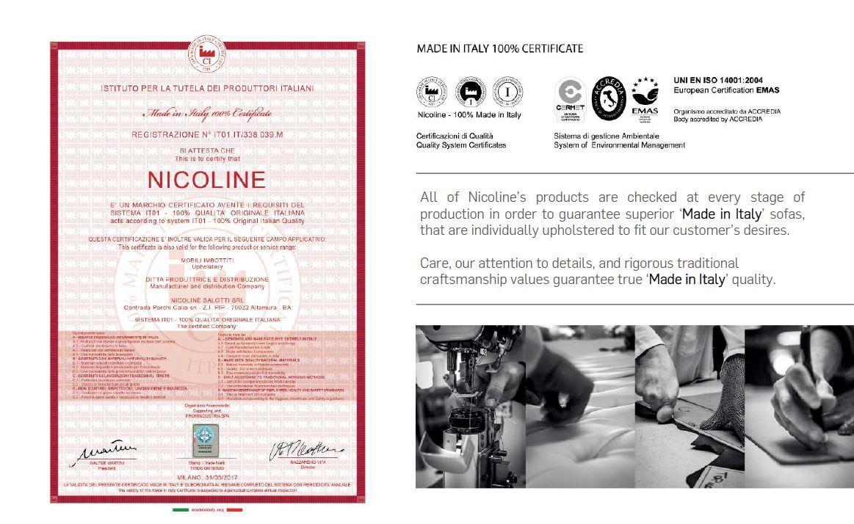 不要買仿冒nicoline沙發|nicoline義大利製造認證