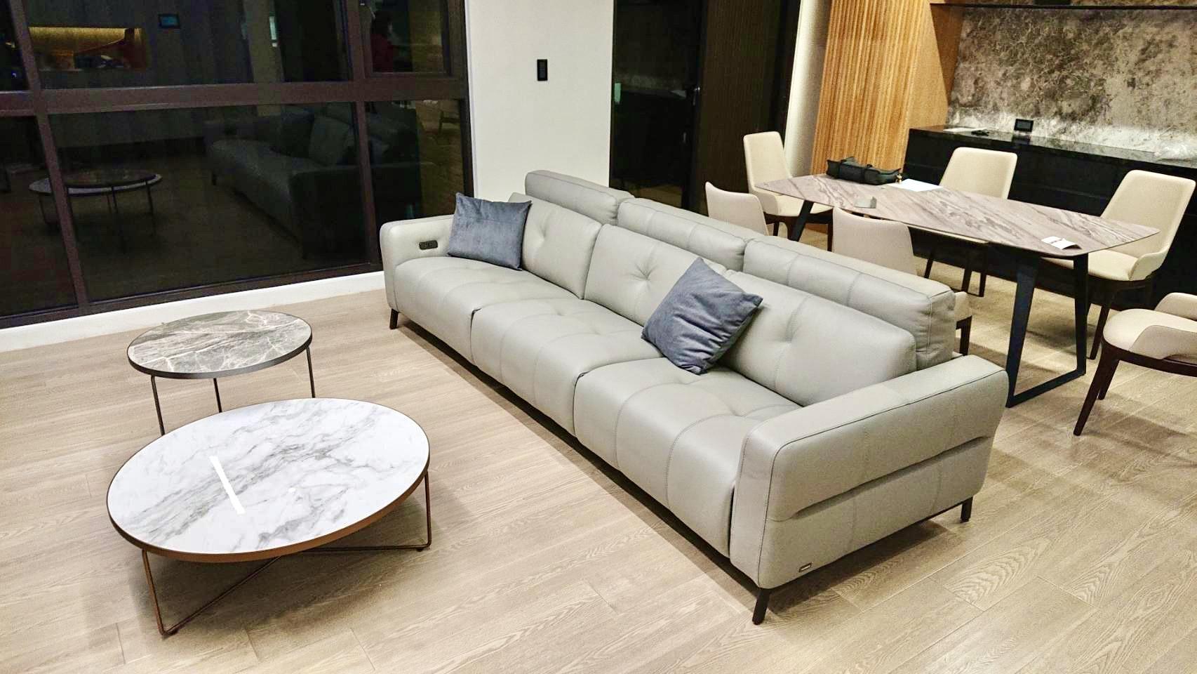 牛皮沙發清潔保養-空間