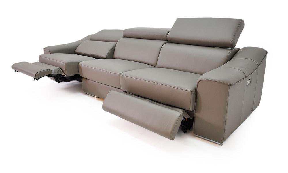 AN118全牛皮雙電動沙發