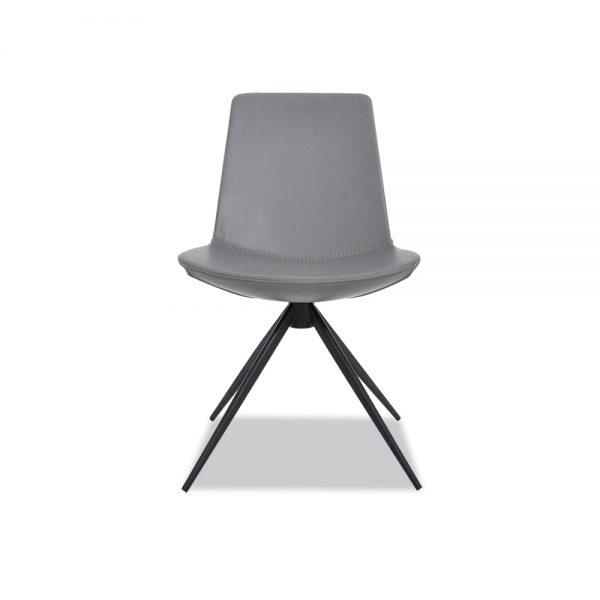 Y1602B深灰色餐椅
