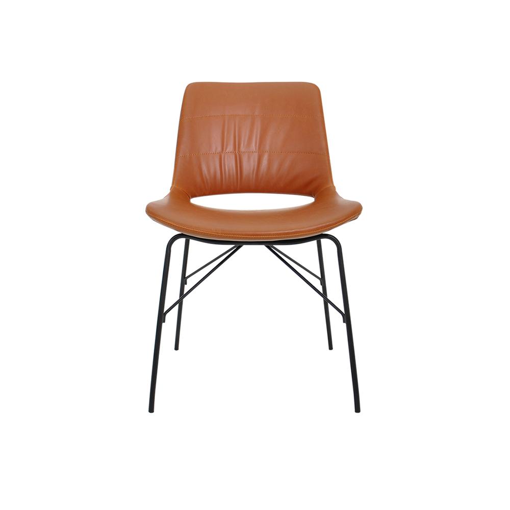 Y19005棕色餐椅