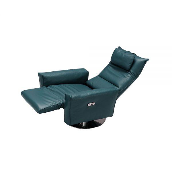 Juliet藍綠色單人椅