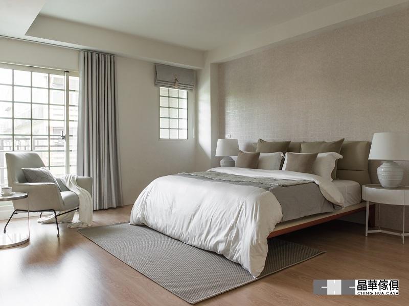 臥室裝修設計 灰色系4