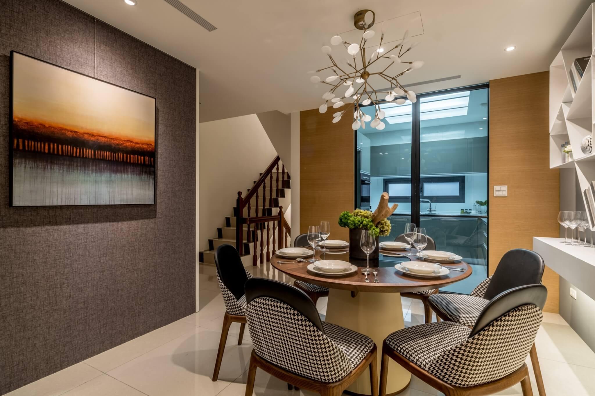 2021餐廳設計案例 圓桌2